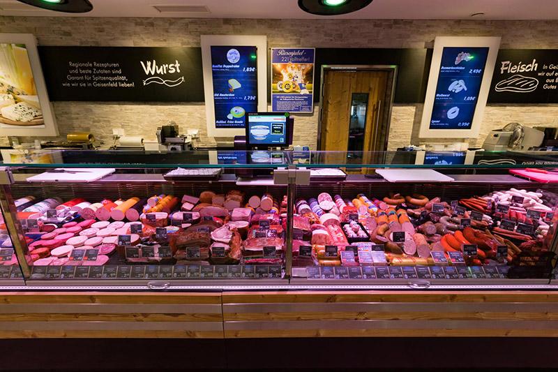 Wurst und Fleisch bei EDEKA in Geisenfeld