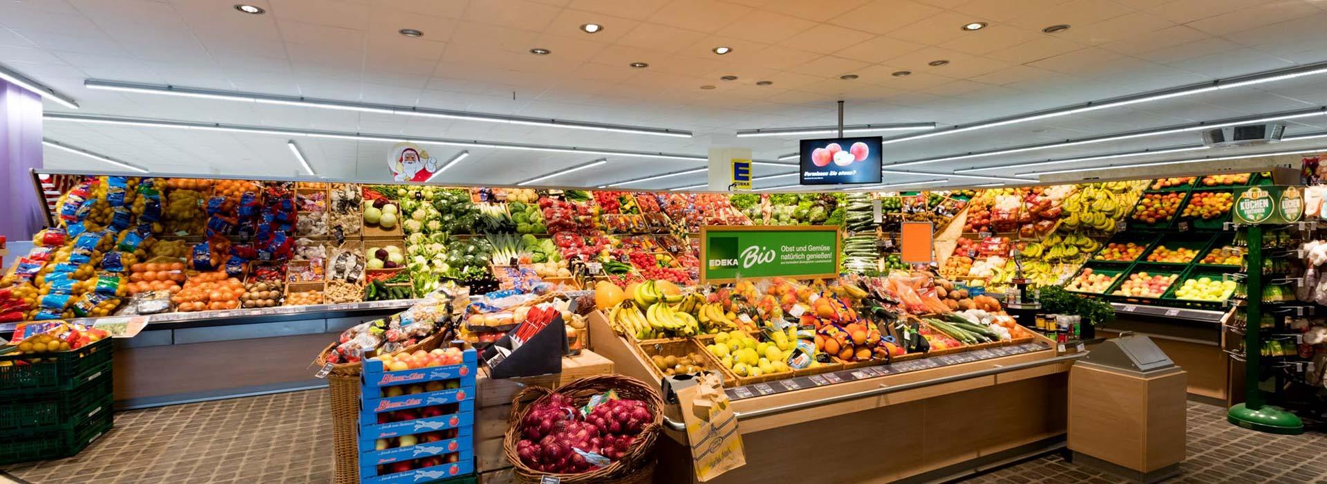 Frisches Obst und Gemüse im EDEKA Geisenfeld